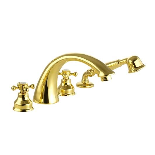 Смеситель для ванны Migliore Lady 18850 (ML.LAD-981.DO) Золото
