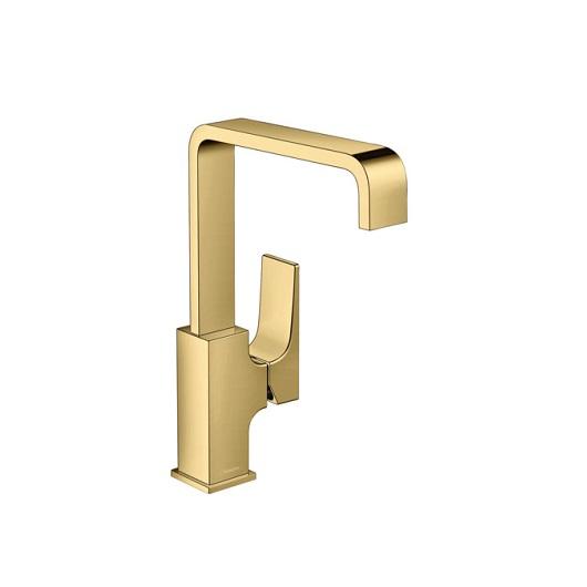 Смеситель для раковины Hansgrohe Metropol 32511990 (полированное золото)