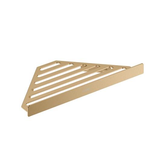 Угловая корзинка Hansgrohe AddStoris 41741140 (шлифованная бронза)