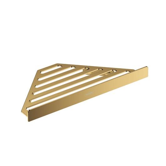 Угловая корзинка Hansgrohe AddStoris 41741990 (полированное золото)