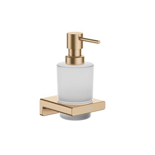 Диспенсер для жидкого мыла Hansgrohe AddStoris 41745140 (шлифованная бронза)