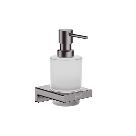 Диспенсер для жидкого мыла Hansgrohe AddStoris 41745340 (шлифованный черный хром)
