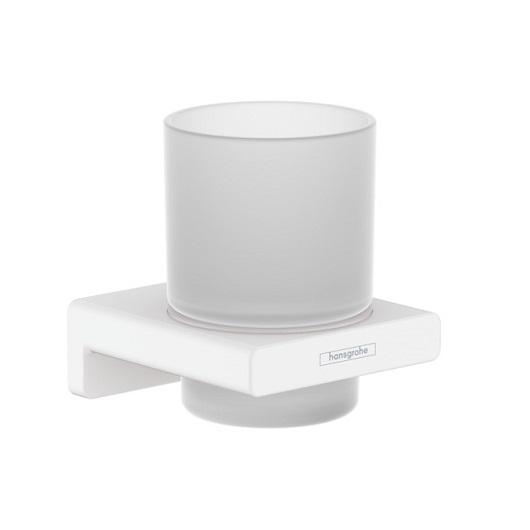 Стакан для зубных щеток Hansgrohe AddStoris 41749700 (матовый белый)