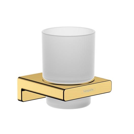 Стакан для зубных щеток Hansgrohe AddStoris 41749990 (полированное золото)