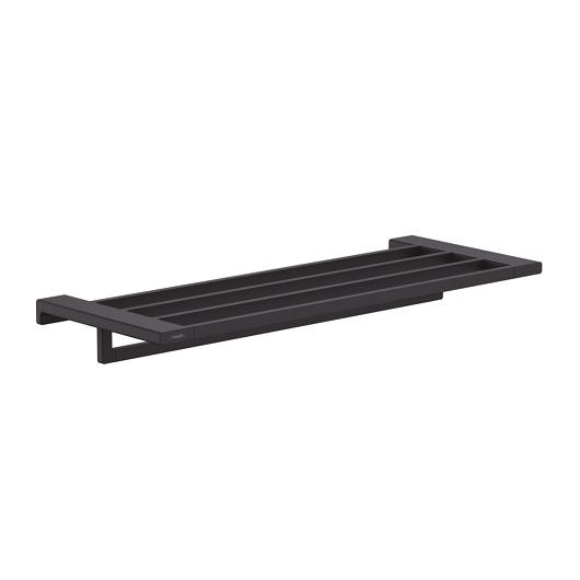 Полка для полотенец Hansgrohe AddStoris 41751670 (матовый черный)