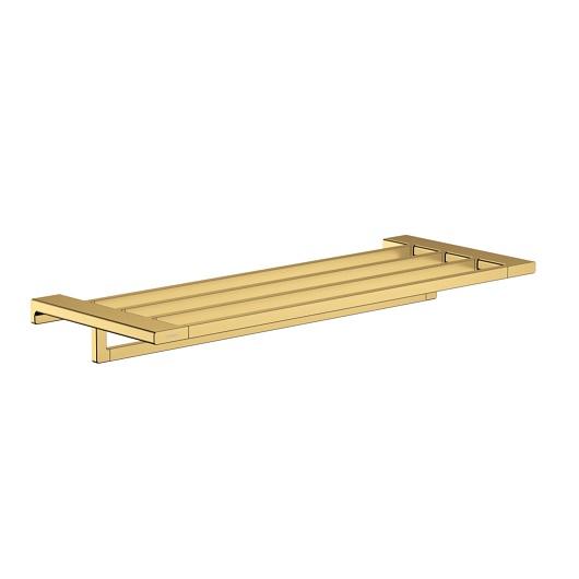 Полка для полотенец Hansgrohe AddStoris 41751990 (полированное золото)