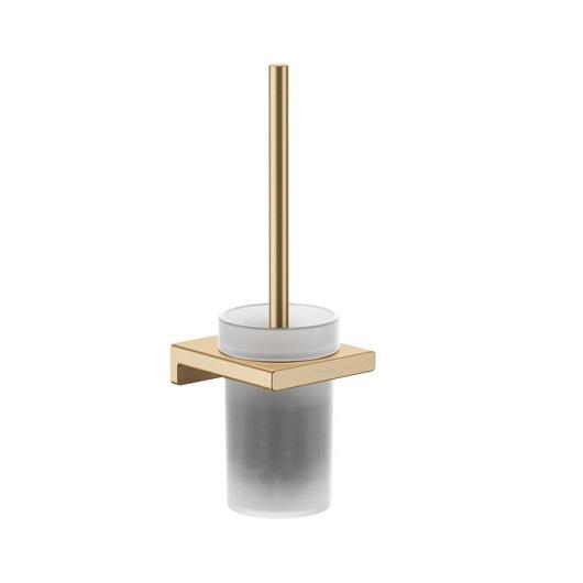 Набор для WC с держателем Hansgrohe AddStoris 41752140 (шлифованная бронза)