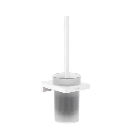 Набор для WC с держателем Hansgrohe AddStoris 41752700 (матовый белый)
