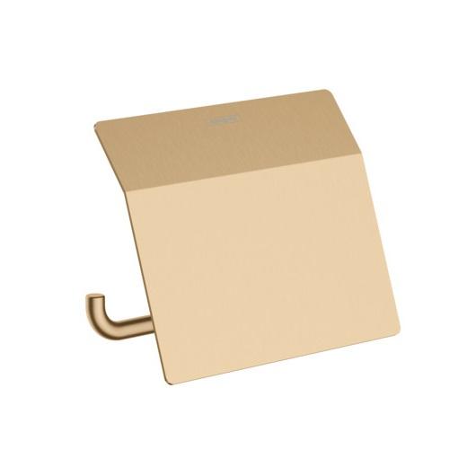 Держатель для туалетной бумаги Hansgrohe AddStoris 41753140 (шлифованная бронза)