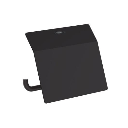 Держатель для туалетной бумаги Hansgrohe AddStoris 41753670 (матовый черный)