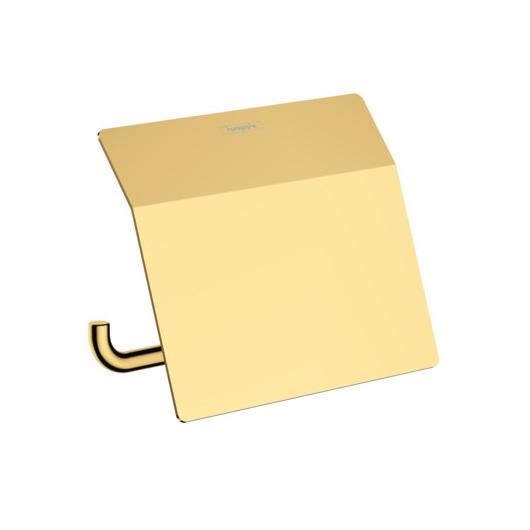 Держатель для туалетной бумаги Hansgrohe AddStoris 41753990 (полированное золото)