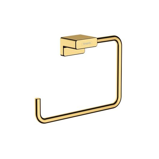 Полотенцедержатель Hansgrohe AddStoris 41754990 (полированное золото)
