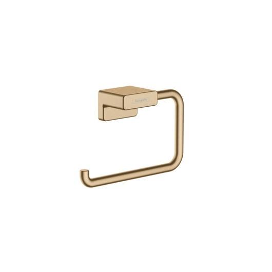 Держатель для туалетной бумаги Hansgrohe AddStoris 41771140 (шлифованная бронза)