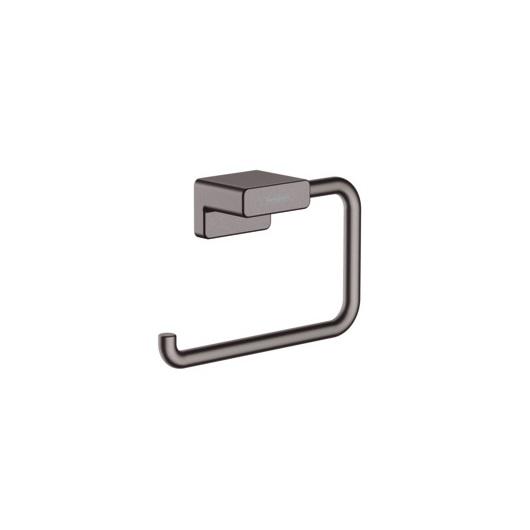 Держатель для туалетной бумаги Hansgrohe AddStoris 41771340 (шлифованный черный хром)
