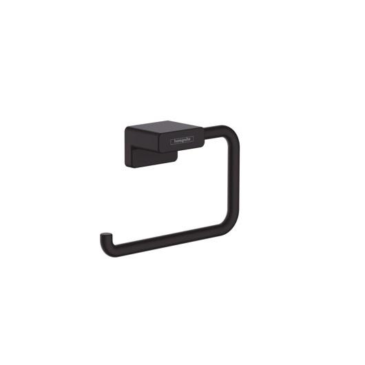 Держатель для туалетной бумаги Hansgrohe AddStoris 41771670 (матовый черный)