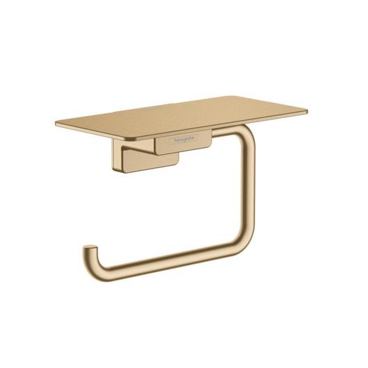 Держатель для туалетной бумаги Hansgrohe AddStoris 41772140 (шлифованная бронза)