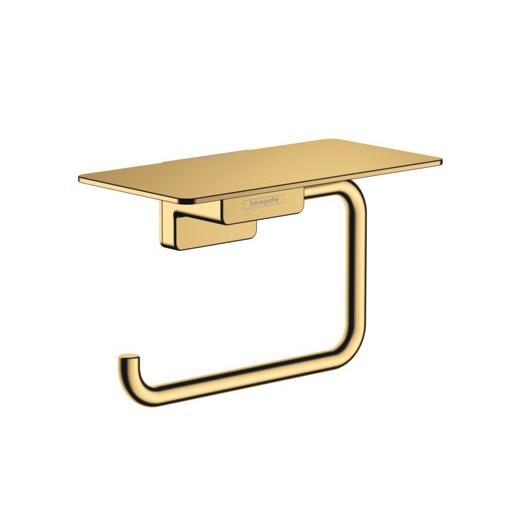 Держатель для туалетной бумаги Hansgrohe AddStoris 41772990 (полированное золото)