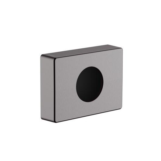 Держатель гигиенических пакетов Hansgrohe AddStoris 41773340 (шлифованный черный хром)