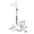 Смеситель для раковины Torne 4313/17F (золото матовое)