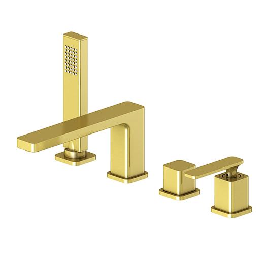 Смеситель для ванны Timo Torne 4330/17Y (золото матовое)