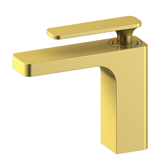 Смеситель для раковины Timo Torne 4361/17F (золото матовое)