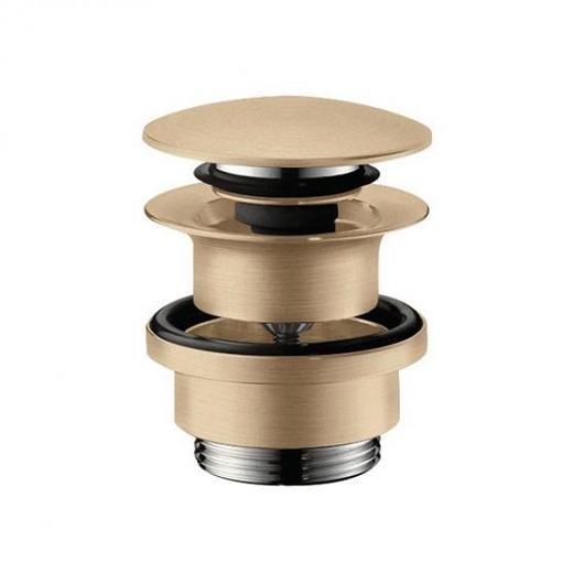 Сливной набор для раковины Hansgrohe Push-Open 50100140 (шлифованная бронза)