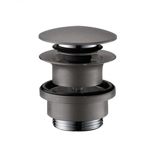 Сливной набор для раковины Hansgrohe Push-Open 50100340 (шлифованный черный хром)